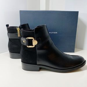 TOMMY HILFIGER Twinella City Style Ankle Booties 7